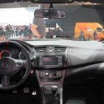 Nissan Sentra Nismo Concept dashboard from LA Auto Show 2013