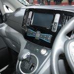 Nissan e-NV200 central console