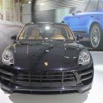 Porsche Macan Turbo front