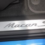 Porsche Macan door sill
