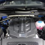 Porsche Macan engine bay
