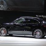 Porsche Macan on view at Tokyo Motor Show 2013
