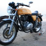 Royal Enfield Continental GT Front three-quarter