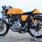 Royal Enfield Continental GT Yellow rear