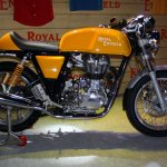 Royal Enfield Continental GT Yellow side