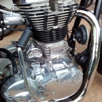 Royal Enfield Continental GT engine live image