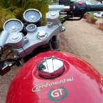 Royal Enfield Continental GT tank live image