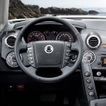 Ssangyong Actyon facelift dashboard
