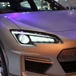 Subaru Cross Sport Concept headlight