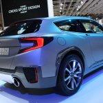 Subaru Cross Sport Concept rear quarter Tokyo Motor Show