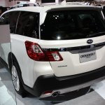 Subaru Crossover 7 rear quarter Tokyo Motor Show