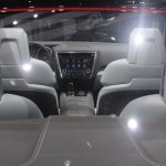 Subaru Legacy Concept cabin from rear