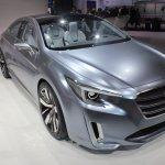 Subaru Legacy Concept front three quarters left