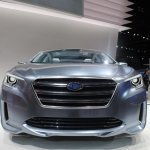 Subaru Legacy Concept front view
