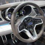Subaru Legacy Concept steering wheel