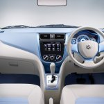 Suzuki A:Wind Concept blue dashboard at Thailand International Motor Show