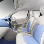 Suzuki A:Wind Concept blue interior at Thailand International Motor Show