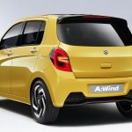 Suzuki A:Wind Concept rear three quarters at Thailand International Motor Show
