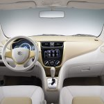 Suzuki A:Wind Concept yellow dashboard at Thailand International Motor Show