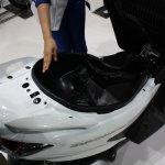 Suzuki Burgman under seat storage