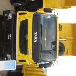 Tata Prima 3123.K front at EXCON 2013