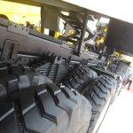 Tata Prima 3138.K rear suspension at EXCON 2013