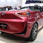 Toyota Aqua Air rear quarter Tokyo Motor Show