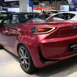 Toyota Aqua Air rear quarter