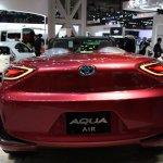 Toyota Aqua Air rear