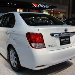 Toyota Corolla Axio Hybrid rear quarter
