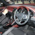 Toyota Harrier dashboard at 2013 Tokyo Motor Show