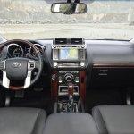 Toyota Land Cruiser Prado facelift dashboard