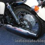 Triumph Bonneville T100 exhaust