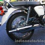 Triumph Bonneville T100 rear wheel