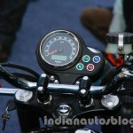Triumph Bonneville launched cluster