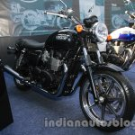 Triumph Bonneville launched front quarter