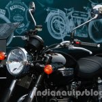 Triumph Bonneville launched headlight