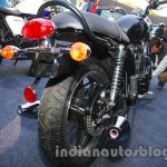 Triumph Bonneville launched rear quarter 2
