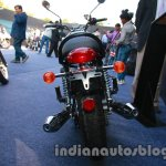 Triumph Bonneville launched rear