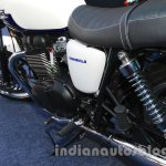 Triumph Bonneville launched white side