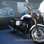 Triumph Bonneville launched white