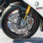 Triumph Daytona 675R India disc brake