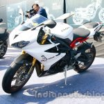 Triumph Daytona 675R India front quarter