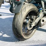 Triumph Street Triple India exhaust tip