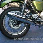 Triumph Thruxton India exhaust