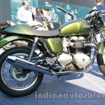 Triumph Thruxton India side