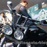Triumph Thunderbird Storm India headlight