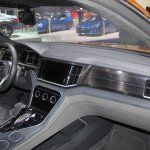 VW CrossBlue Coupe dashboard