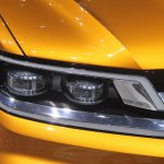 VW CrossBlue Coupe headlight