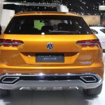 VW CrossBlue Coupe rear